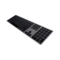 Matias Bluetooth Slim Aluminum Keyboard - Space Gray