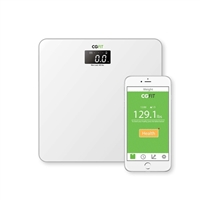 Concept Green Ultra Sonic Smart Fitness Scale White