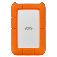 LaCie Rugged 4TB USB-C Portable Hard Drive