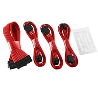 CableMod Internal Power Cable Extension Kit Red