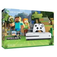 Microsoft Press Xbox One S 500GB Minecraft Bundle