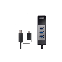 Unitek USB 3.0 3-Port Hub/SD Card Reader + OTG Adapter