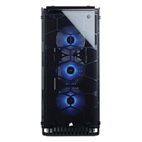 Corsair Crystal 570X Premium ATX Mid-Tower Case w/ RGB Lighting & Tempered Glass Panels