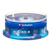 Verbatim BD-R 25GB 6X with Branded Surface