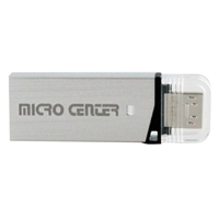 Micro Center 32GB USB 3.0 OTG Flash Drive with Micro USB Connector - Black