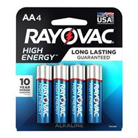 Rayovac AA Alkaline Battery 8-Pack