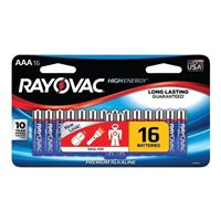 Rayovac AAA Alkaline Battery 16-Pack