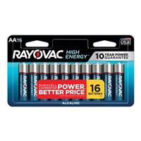 Rayovac AA Alkaline Battery 16-Pack