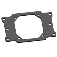 EK EVO AM4 Mounting Plate Bracket - Black