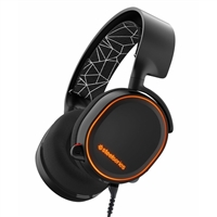 SteelSeries Arctis 5 Gaming Headset 7.1 Surround Sound - Black