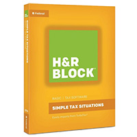 Block Financial Software H&R Block Tax Software Basic 2016