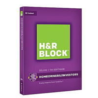 Block Financial Software H&R BLOCK DELUXE 2016