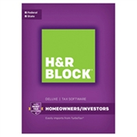 Block Financial Software H&R Block Tax Software Deluxe State 2016