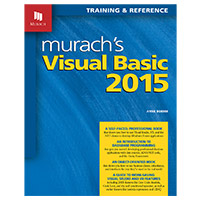 Mike Murach & Assoc. MURACHS VISUAL BASIC 2015