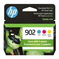 HP 902 Color Original Ink Cartridge 3-Pack