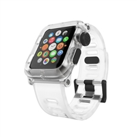 Lunatik EPIK Polycarbonate Case for Series One Apple Watch 42mm - Clear