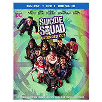 Warner Suicide Squad Blu-Ray