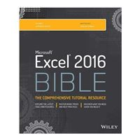 Wiley Excel 2016 Bible, 1st Edition