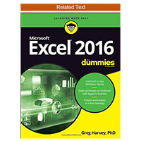 Wiley Excel 2016 For Dummies, 1st Edition