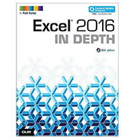 Pearson/Macmillan Books Excel 2016 In Depth, 1st Edition