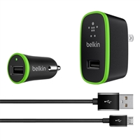 Belkin Charging Kit with Micro USB Cable Black