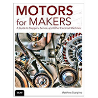 Pearson/Macmillan Books MOTORS FOR MAKERS