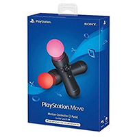 Sony PlayStation Move Controllers - Two Pack