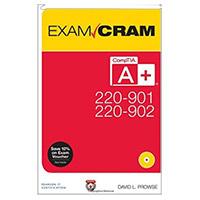 Pearson/Macmillan Books COMPTIA A+ EXAM CRAM