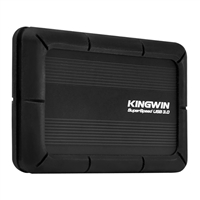 "Kingwin Anti-Shock 2.5"" SATA to USB 3.0 External Hard Drive Enclosure"