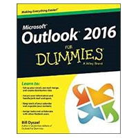 Wiley Outlook 2016 For Dummies, 1st Edition