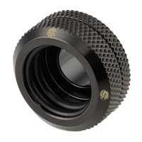 "Bitspower G 1/4"" Enhanced Straight Compression Fitting - Matte Black"