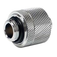 Bitspower G1/4 Thread 3/8 ID x 5/8 OD Compression Fitting Silver