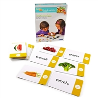Stages Learning Materials Link4fun - Fruits and Vegetables Flashcards