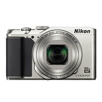 Nikon A900 Coolpix 20 Megapixel Digital Camera - Silver