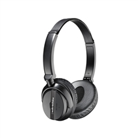 Audio Technica QuietPoint Noise-Cancelling Foldable Headphones - Black