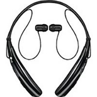 LG Tone Pro Bluetooth Wireless Stereo In-Ear Headset - Black