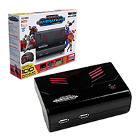 Retro-Bit Generations Plug and Play Game Console 90+ Retro Games Red/Black