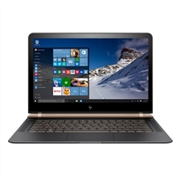 "HP Spectre 13-v018ca 13.3"" Laptop Computer Refurbished - Dark Ash Silver with Luxe Copper Accent"