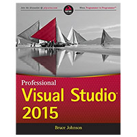 WROX Press Professional Visual Studio 2015, 1st Edition