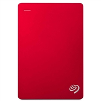 Seagate Backup Plus 5TB USB 3.0 Portable Hard Drive - Red