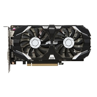 MSI GeForce GTX 1050 Ti Overclocked Dual-Fan 4GB GDDR5 PCIe Video Card