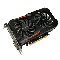 Gigabyte GeForce GTX 1050 Overclocked 2GB GDDR5 Video Card