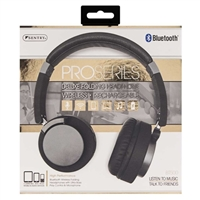Sentry Industries Pro Series Bluetooth Headphones w/ Mic - Black