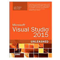 Pearson/Macmillan Books Microsoft Visual Studio 2015 Unleashed, 3rd Edition