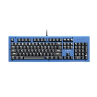 Azio MK HUE Backlit Mechanical Keyboard - Blue