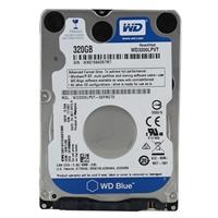 "WD Scorpio Blue 320GB 5,400 RPM SATA III 2.5"" Internal Notebook Hard Drive (Factory-Recertified)"