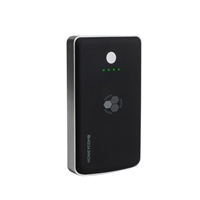Concept Green Honeycomb Wireless Portable Charger w/ 5,000mAh Battery -Black