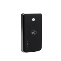 Concept Green Honeycomb Wireless Portable Charger w/ 7,500mAh Battery - Black
