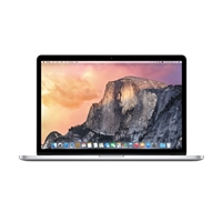 "Apple MacBook Pro with Retina Display 15.4"" Laptop Computer Refurbished - Silver"