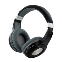Sharper Image SBT561 Over-the-Ear Bluetooth Headphones - Black